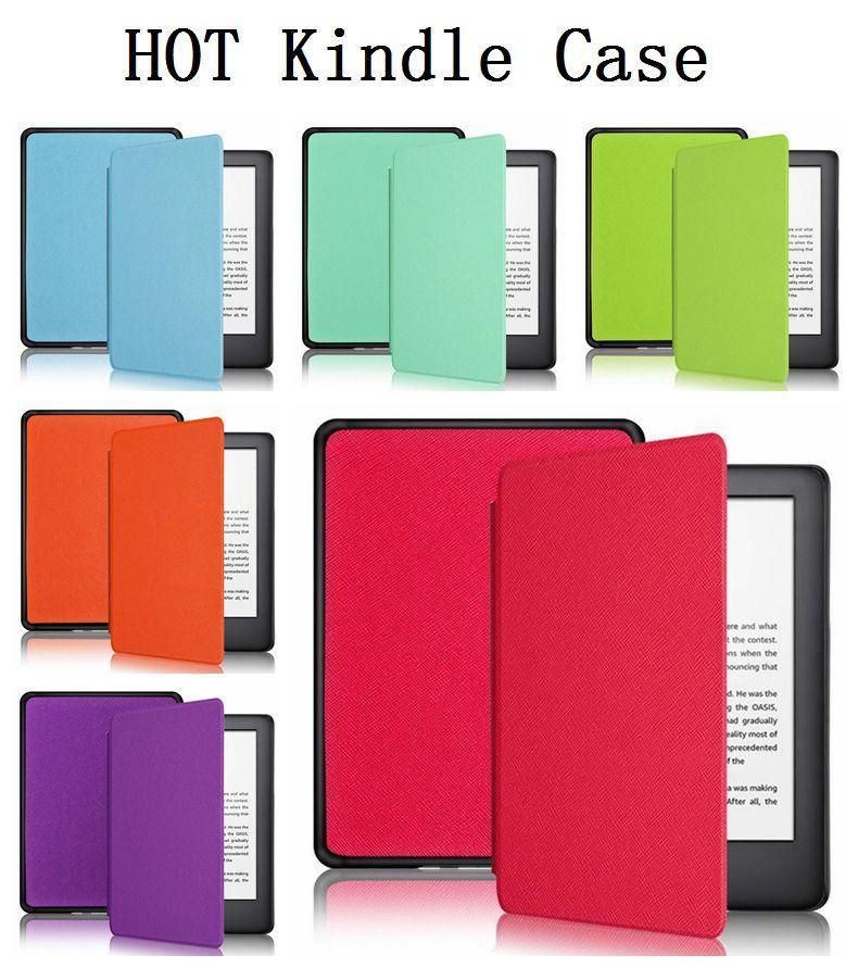 Ультра-тонкий кожаный чехол для Amazon Kindle Paperwhite 1 2 3 4 Смарт Magnetic Дизайн обложки для Kindle 558 658