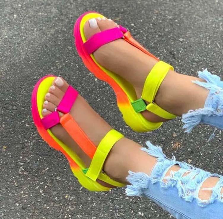women shoes Sandals High Quality heels Sandals Slippers Huaraches Flip Flops Loafers shoe For slipper b05 P3