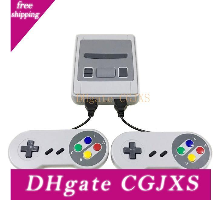 Mini Sfc Game Console Av Output Snes 500 Classic Video Games Can Connect To Tv And For Two Players