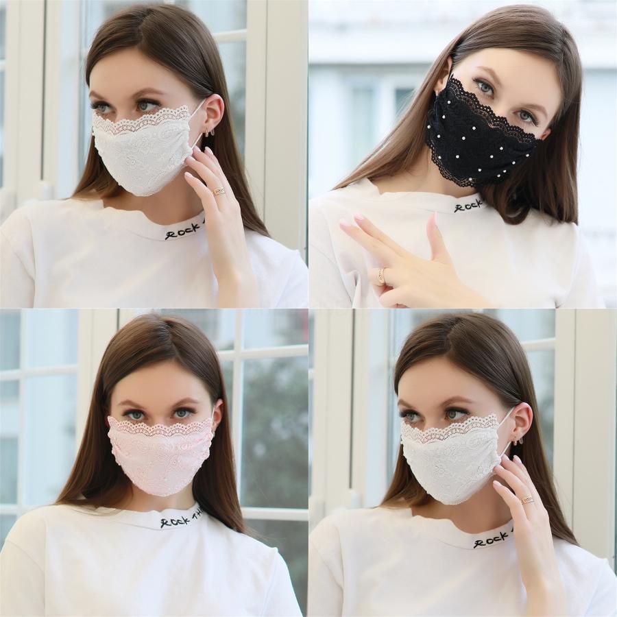 Maske Schwamm WashableDesigner Printed Masken Mode Gesichtsmaske Anti Pollution-Antistaub-Einzel Pac E # 407