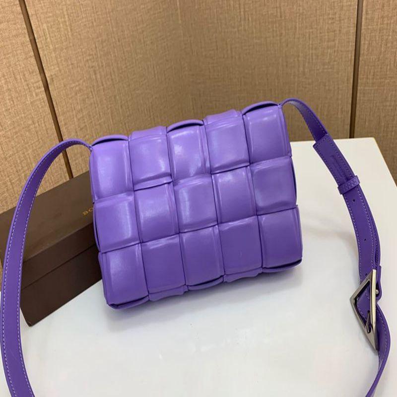 Padded Kassette für Frau Designerhandtasche Luxus Frauen Tasche aus echtem Leder Art und Weise Totes Tasche aus echtem Leder