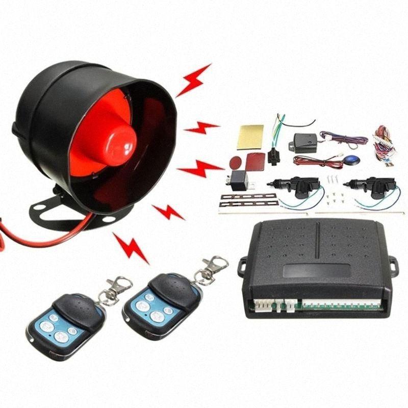 Profession New Universal Car Alarm Remote Control Security System 2 Door Central Door Lock Locking Kit Set Keyless Entry System 6GYA#