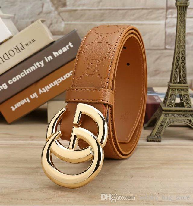 Cinture Designer per Cinture di Snake cinghia di cuoio genuina dei jeans cinture oro fibbia grande 81422