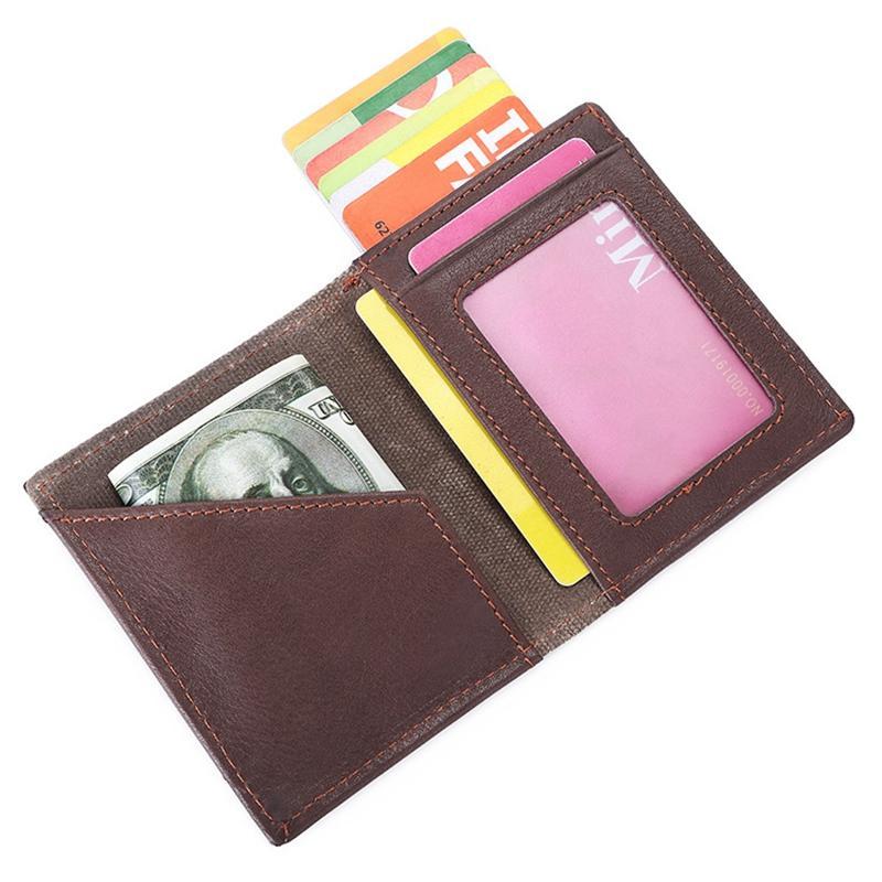 Pull Out Card Holder antifurto Anti magnetico Uomini Donne Portafogli Business Card Multi Tempo libero Moda borsa