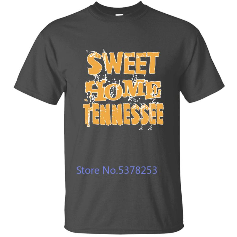 Sweet Home Tennessee americano T-shirt per T Shirt Mens Tee Shirt Uomo Uomini solido Colore Stampato girocollo Tops Casuals fresco
