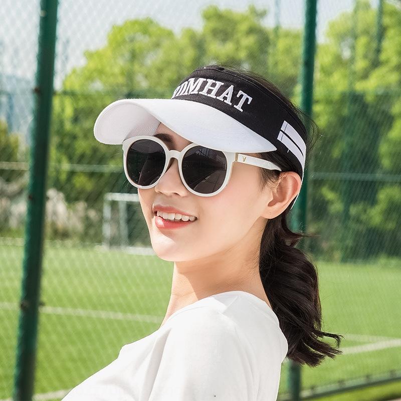 estate delle donne wnRzG vuoto-top sole non-top hat esterna della protezione di sport di modo cappello da sole a prova di sole da uomo