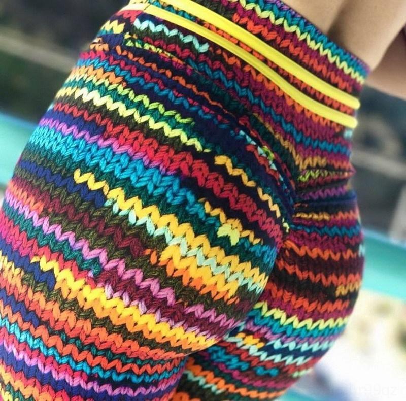 xrBMO pants slim-fit sexy slimming high base yoga fitness waist hip-lifting Yoga sports Fashion sports pants