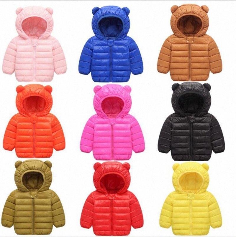 Вниз пальто Мальчики Зима с капюшоном Верхняя одежда Девочка с длинным рукавом шинели Лыжная одежда пуховик Детская одежда Дизайнерская одежда Теплая осень YL559 Sm7j #