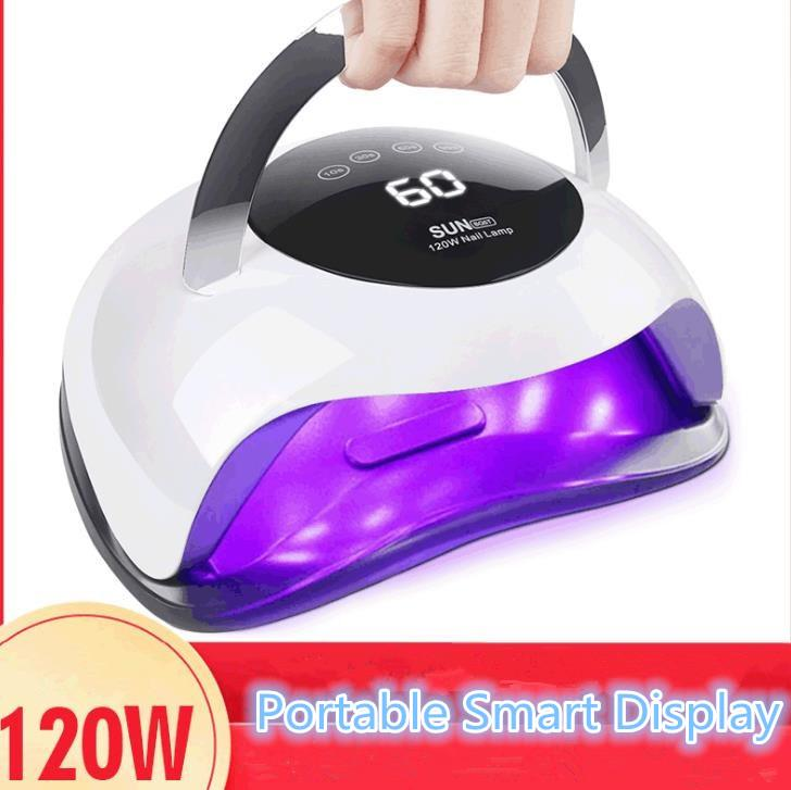 Hot Selling BLUEQUE New 120W Portable LED Light Toaster Professional Salon Nail Lamp Nail Dryer UV Nail Lamp