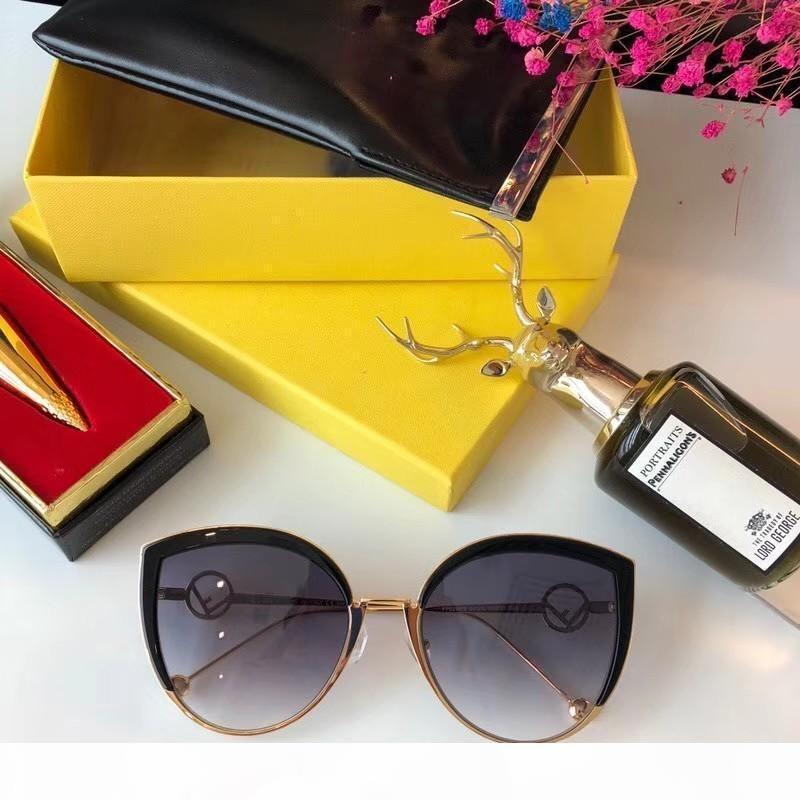 Novas moda feminina óculos de sol óculos escuros de grife para mulheres homens sol óculos mulheres designer de homens óculos escuros de grife óculos 0290