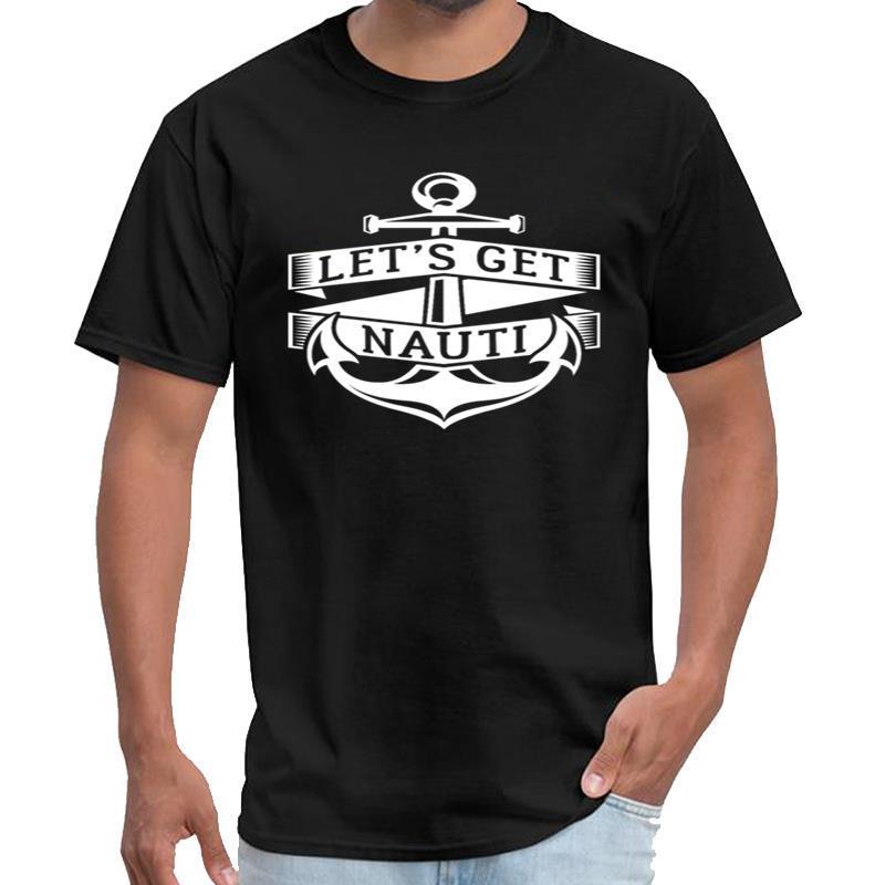 Impresso Boat Cruise Navio engraçado Cruising Humor amigos yung camisa magra camiseta Ricard t feminino masculino s-6xl naturais