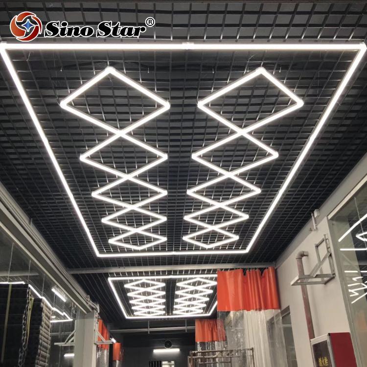 IN STOCK ST2018 중국 스타 전문 양질 천장에 대한 미국의 육각 주도 워크샵 등 인기 선발 된 광