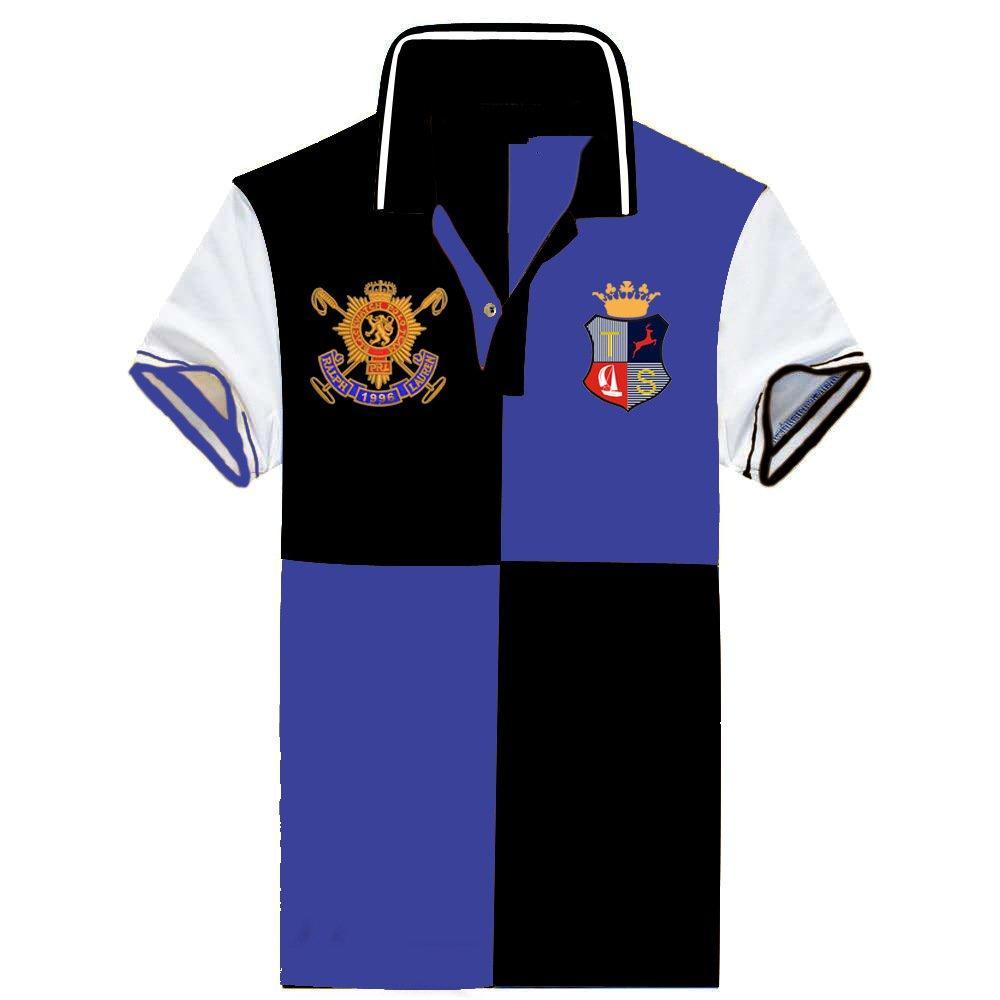 Vente en gros coton revers de haute qualité brodé polo haut de gamme pour les hommes avec du coton assorti couleur Polo T-shirt