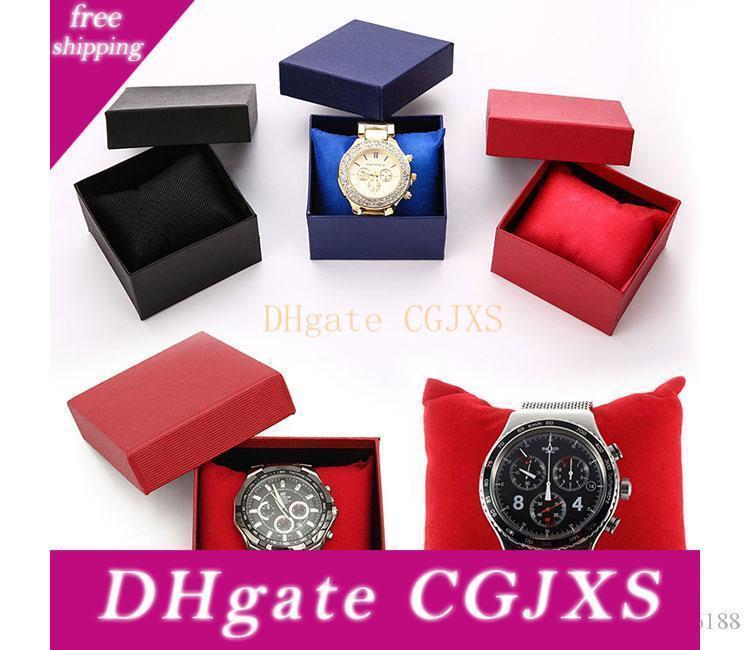 Dauerhafte Präsentation Geschenk-Kasten-Kasten für Armband-Armband Schmuck Armbanduhr Boxs Papier Uhrenbox Unite -Shop6188