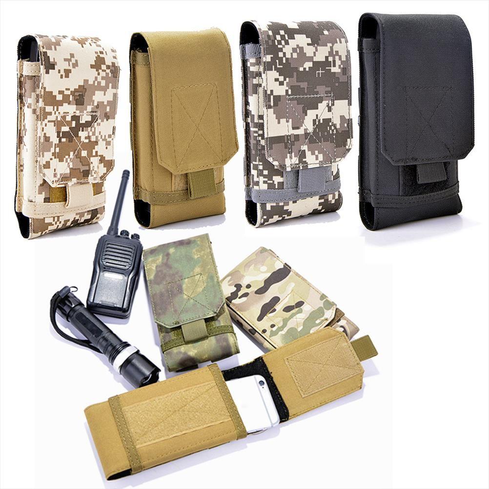 İyi Kalite Naylon Bel Telefon Kılıfı Molle Kılıf Ordu Kamuflaj Kemer Kılıfı Çanta Askeri Cüzdan Cüzdan