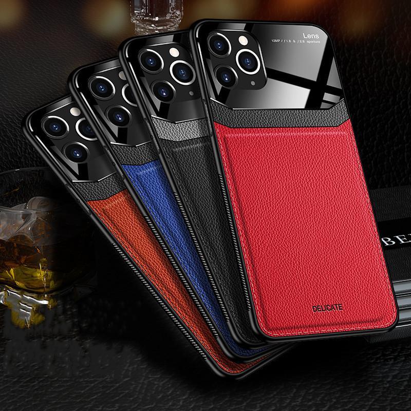 Кожаный чехол для телефона для x 7 8 Max Case Cove iPhone Phone Pro iPhone XS PLUS XR Мобильный защитный 11 KSLGA