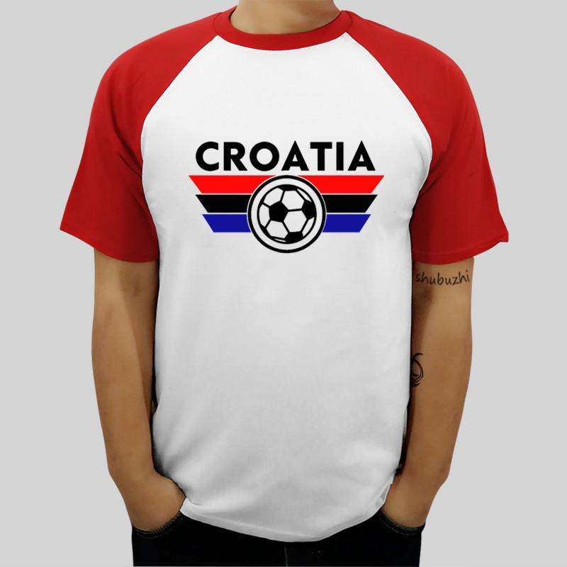 Marke T-Shirt Männer-T-Shirts Kroatien Jersey Soccerer Hemd Hrvatska Futbol Nogomet Dres Cotton T-Shirt neue Marke Tops