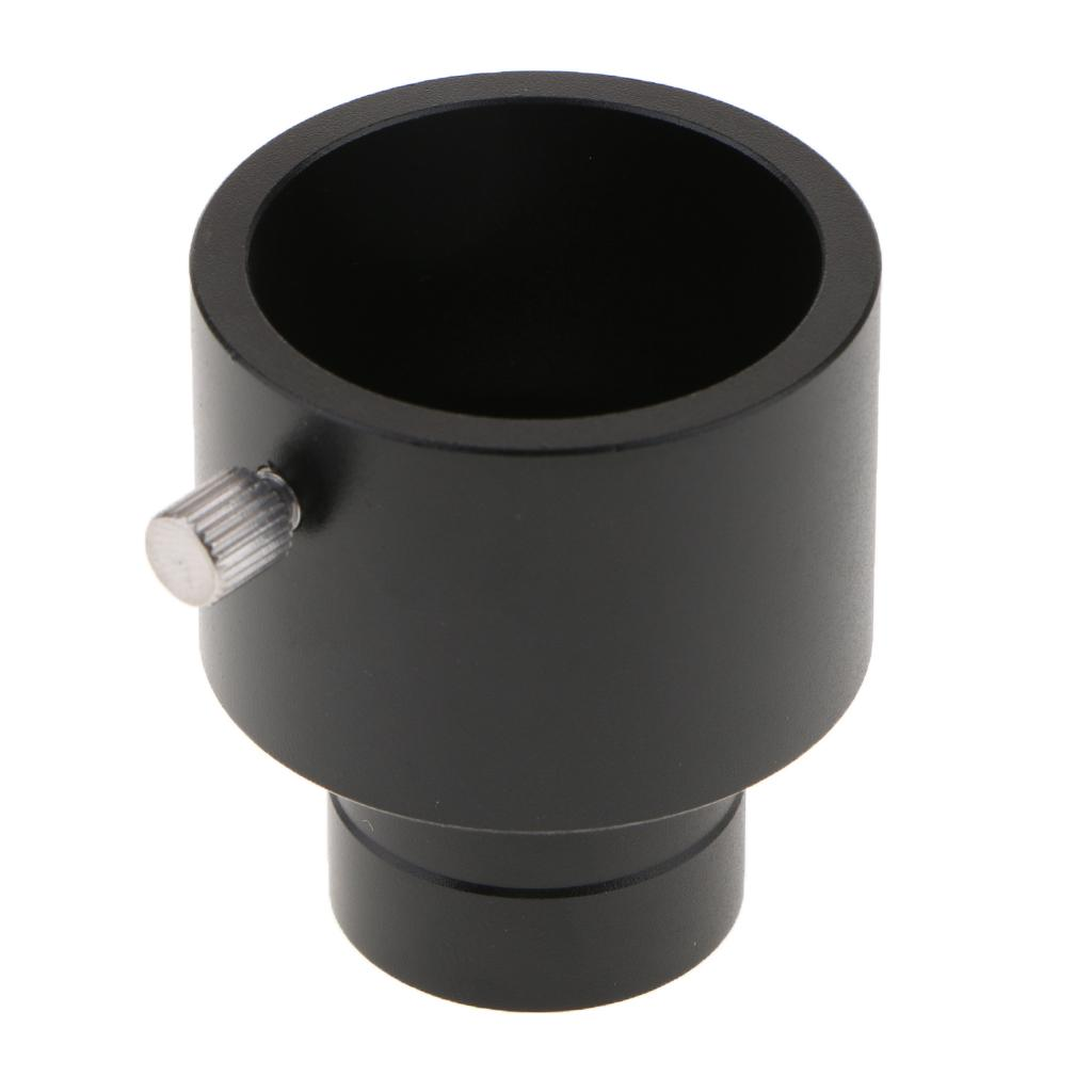 Para 0.965inch 1.25inch Telescopio adaptador del ocular 24,5 mm 31,7 mm Adaptador Para