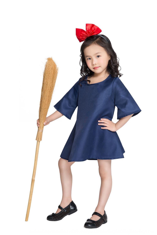 WHKMI kostüm Cosplay kız fotoğraf ebeveyn-çocuk giyim kostüm Kiki çocuk elbise Kiki Cosplay Çocuk kız elbise fotoğraf ebeveyn-çocuk c