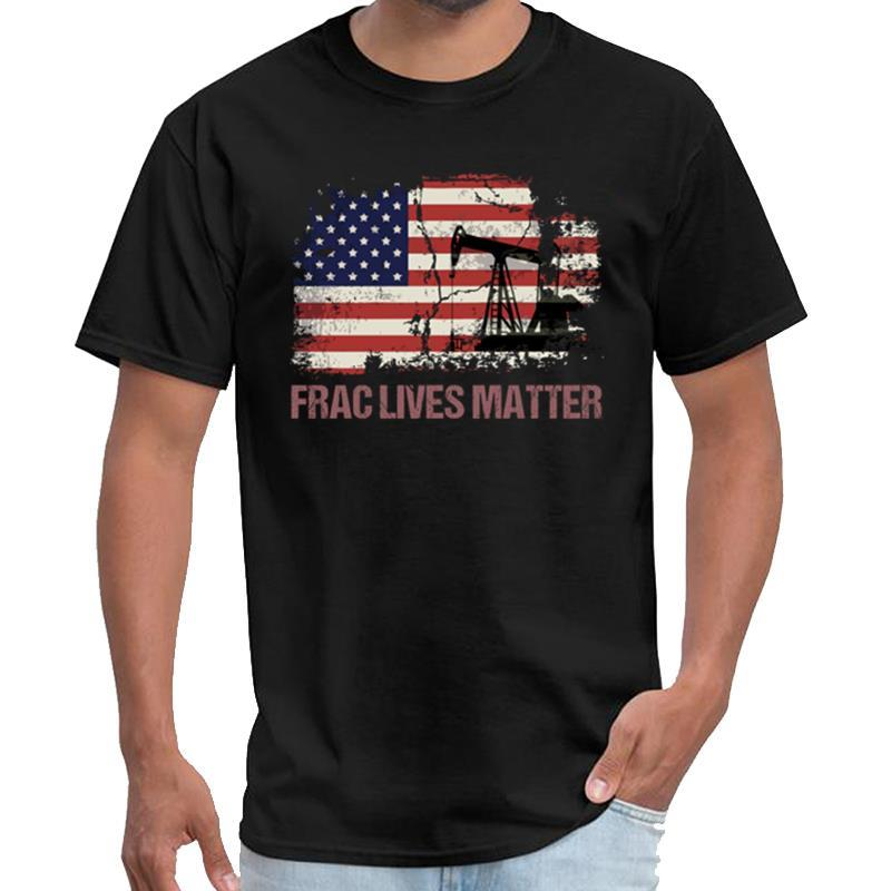 Personalized Frac Lives Matter Oil Fracking Worker Gift Ideas ropa tshirt women tiny spark t shirt big size s~5xL pop top tee