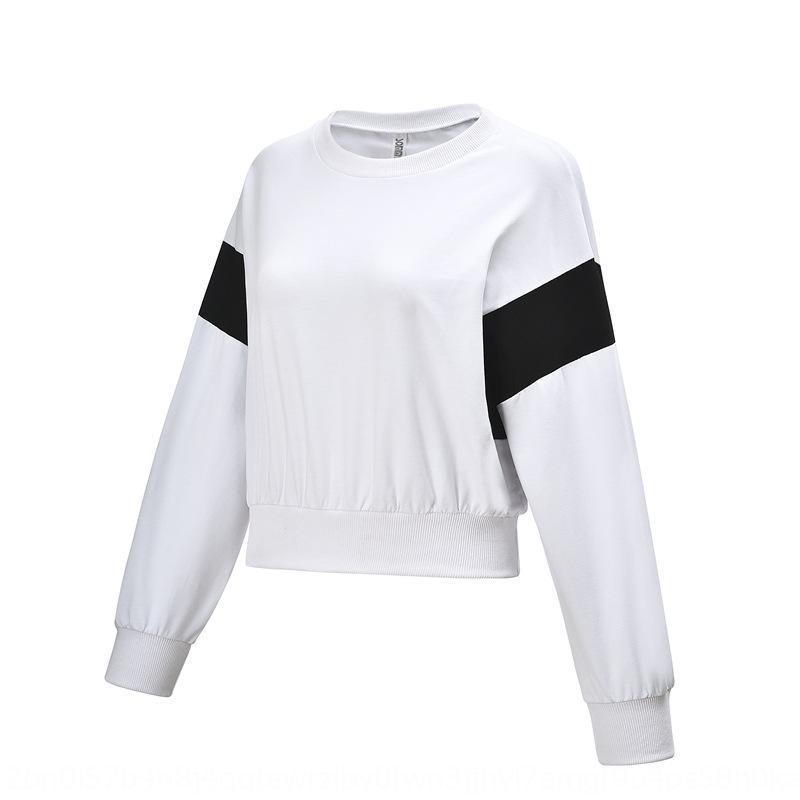 verlieren Fitness Frauen 5G7w1 Laufen Sport Pullover Yoga Berühmtheit Hülse Herbst und Winter Internet Sweatshirt Mantel Mantel lange Korean st 06F6B