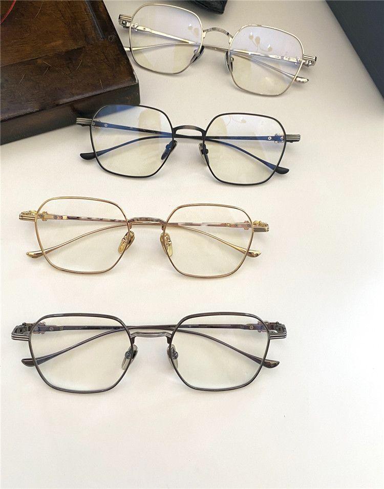 Avec cas paratestes II Homme carré pour lunettes Square Square Lunettes optiques II Design Métal Femmes Vintage Lunettes Viee Paratestes et JameCh