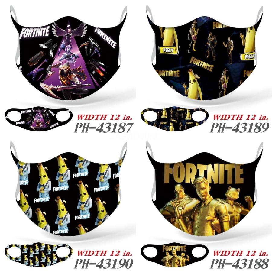 En plein air face Er Fashion Imprimé Bib Biden Fortnite Masque sec transparente multi-fonctionnel rapide Hairband Head Biden Fortnite Mask Bandana # 67 # 584