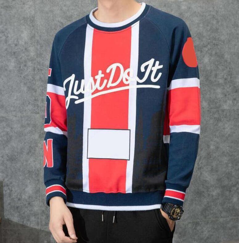 Vendita calda di sport con cappuccio per la Mens felpe con lettere di alta qualità Homme Pullover Streetwear Abbigliamento casual S-3XL opzionale