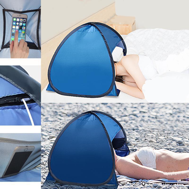 Rifugi Tenda Beach Viso Camping protezione UV fino Tenda Parasole Tenda Viaggi turistiche Campeggio tende Shelter Viso XA204A