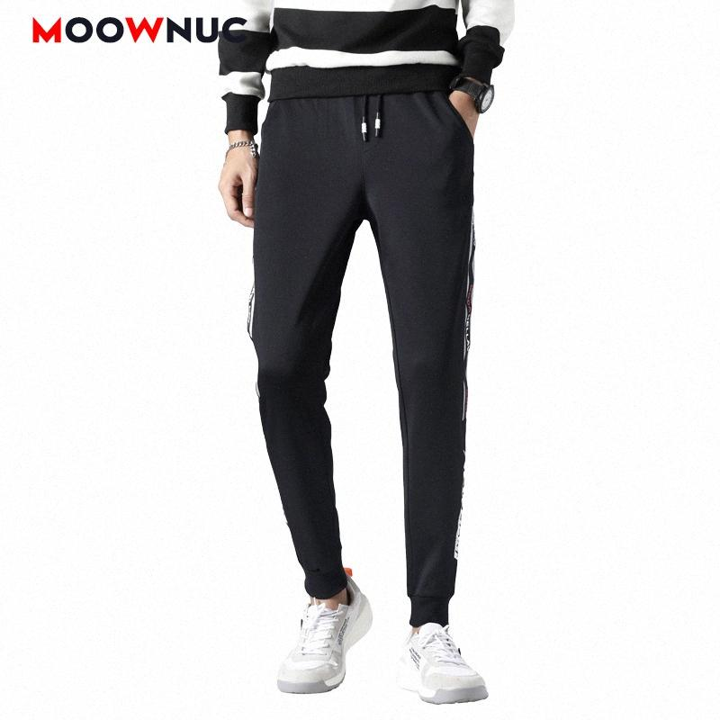 Брюки MOOWNUC пят Sweatpant HOMBRE Streetwear Мужские брюки Мужской бегуны 2020 Повседневный Spring Fit Fashion Hip Hop tfFc #