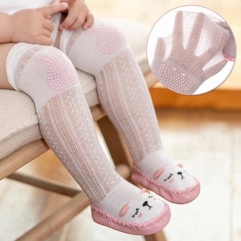 Sommer Erste Babyschuhe Baby-Wanderer-Kleinkind-erste Wanderer-Mädchen-Schuhe 1Year weiche Gummisohle Boden Socke Anti Slip RtHV #