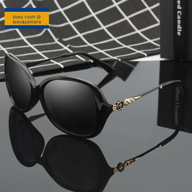 2020 yeni elmas kaplı güneş kadın moda büyük çerçeve UV dirençli UV400 JT2218 Sunglasses güneş gözlüğü 0N1D2