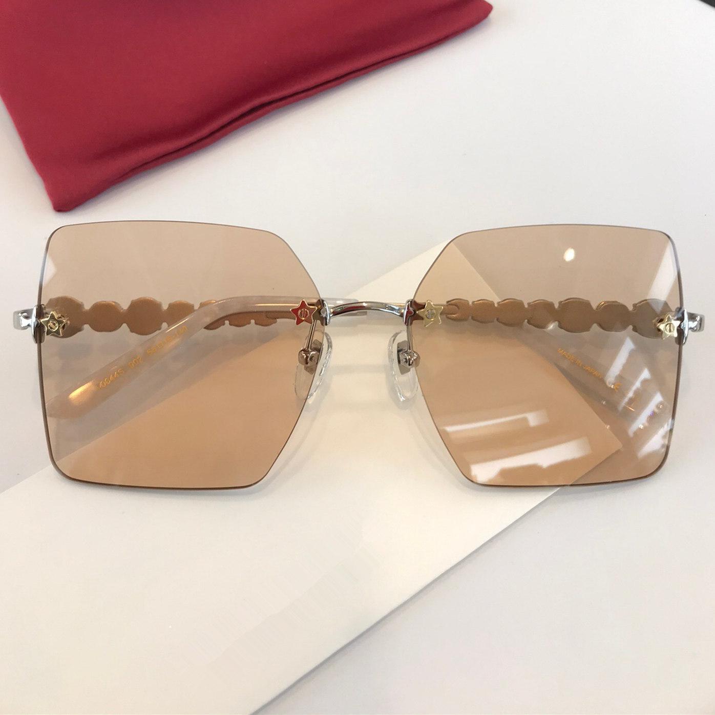0644 Новая мода популярных солнцезащитные очки классические квадратная рамка высшего качества простой и элегантный стиль высшего качества защитные очки 0644S