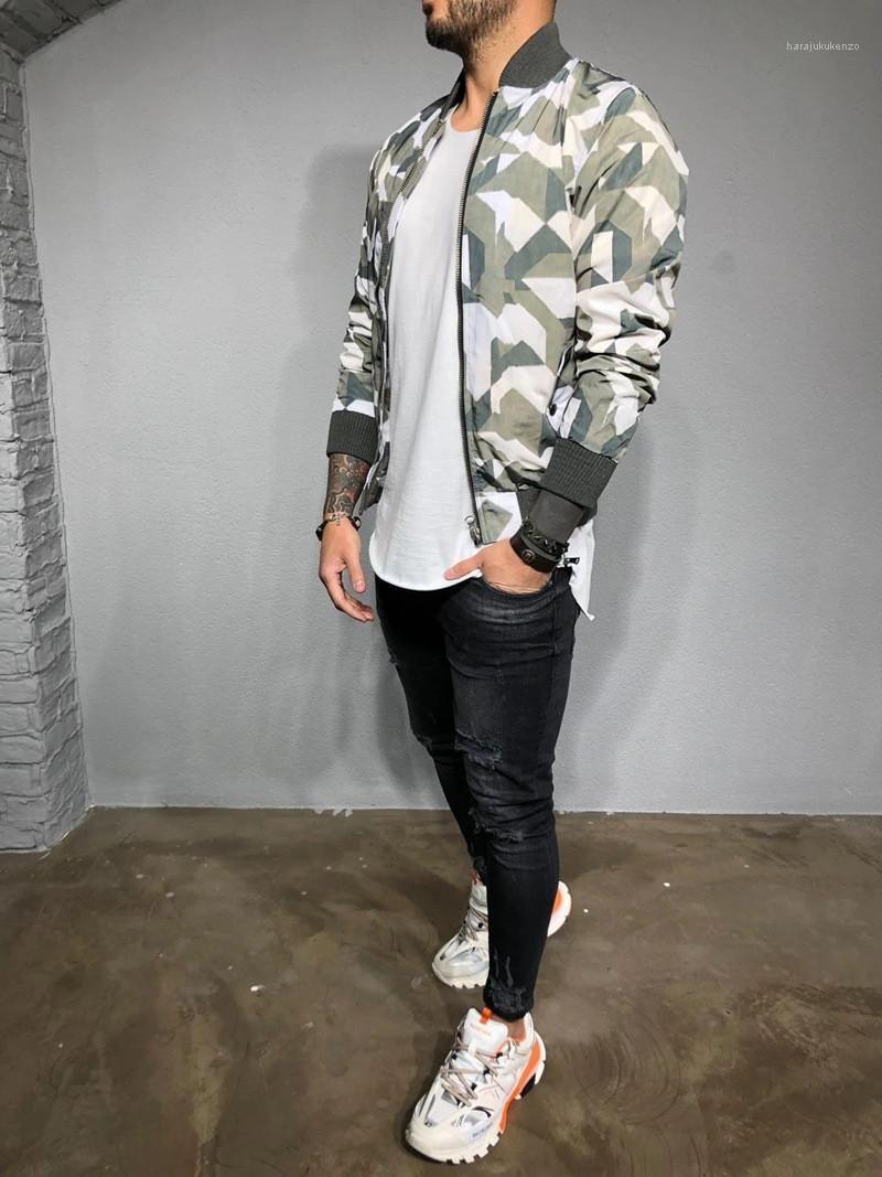 Casual Outdoor Esecuzione di Designer Giacche Street Style Mens tuta sportiva della molla del progettista del Mens Jackets Moda Camouflage