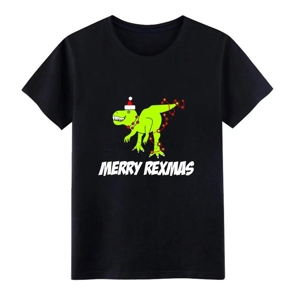 Outono Primavera Feliz festa natalícia do Natal Rexmas Funny T Shirt Men malha manga curta S-Xxxl Anti-rugas de Moda de Nova Camiseta