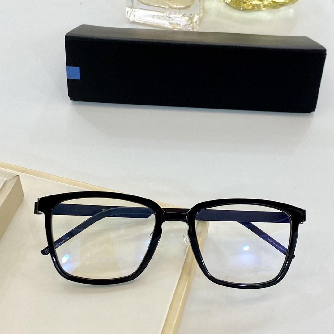 New nenhum Ultra luz parafuso armação dos óculos de design de titânio para a miopia, quadro full frame 6505 para reduzir a carga sobre a ponte do nariz