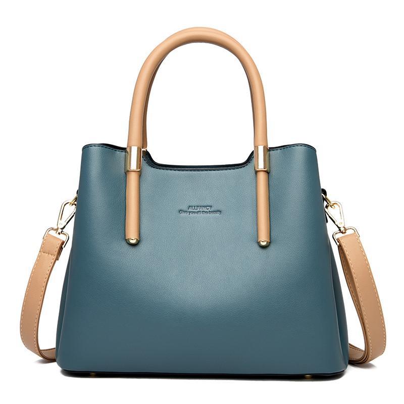 2020 New Blue Lady Ladies Lavori Versatili Donne e Messenger Borsa a tracolla Alla moda Dignify Shopping Borsa Borse Semplice Eadec
