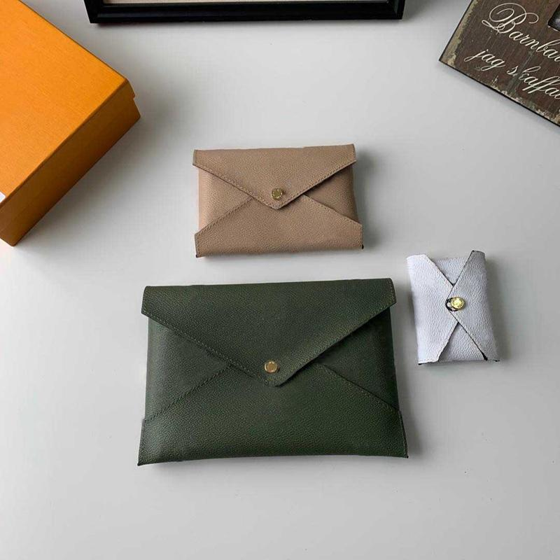 New fashion 3 pieces combination coin purses women clutch bag wallet bags pochette kirigami handbags purses pouch pocket money bag with box
