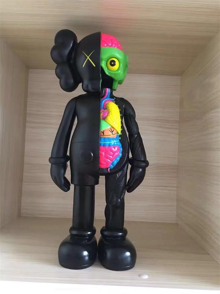 Designer Design 37cm Kaws Dissected Companion Kaws Original Fake Action Figure Christmas Creative Gifts