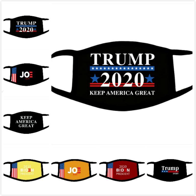 Трамп Байден моющийся 24 хлопок выборов стиль DHL американская вечеринка анти пыль загрязнение дышащие маски дома и сад EWE817