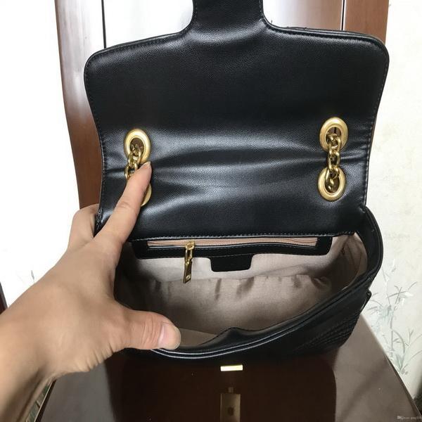 Top Qualität Frau Umhängetaschen Womens Kette Crossbody Tasche Handtaschen Lady Leder Geldbörsen Mode Weibliche Messenger Geldbörse