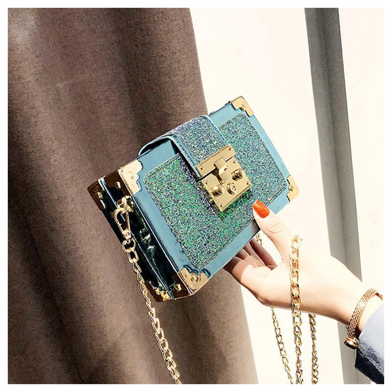 2020 neue Qualitäts-Weinlese-Kasten-Form Crossbody Beutel für Frauen Kleine weibliche Flap Portemonnaie Luxus-Handtaschen-Frauen-Beutel Designer Messenger bag