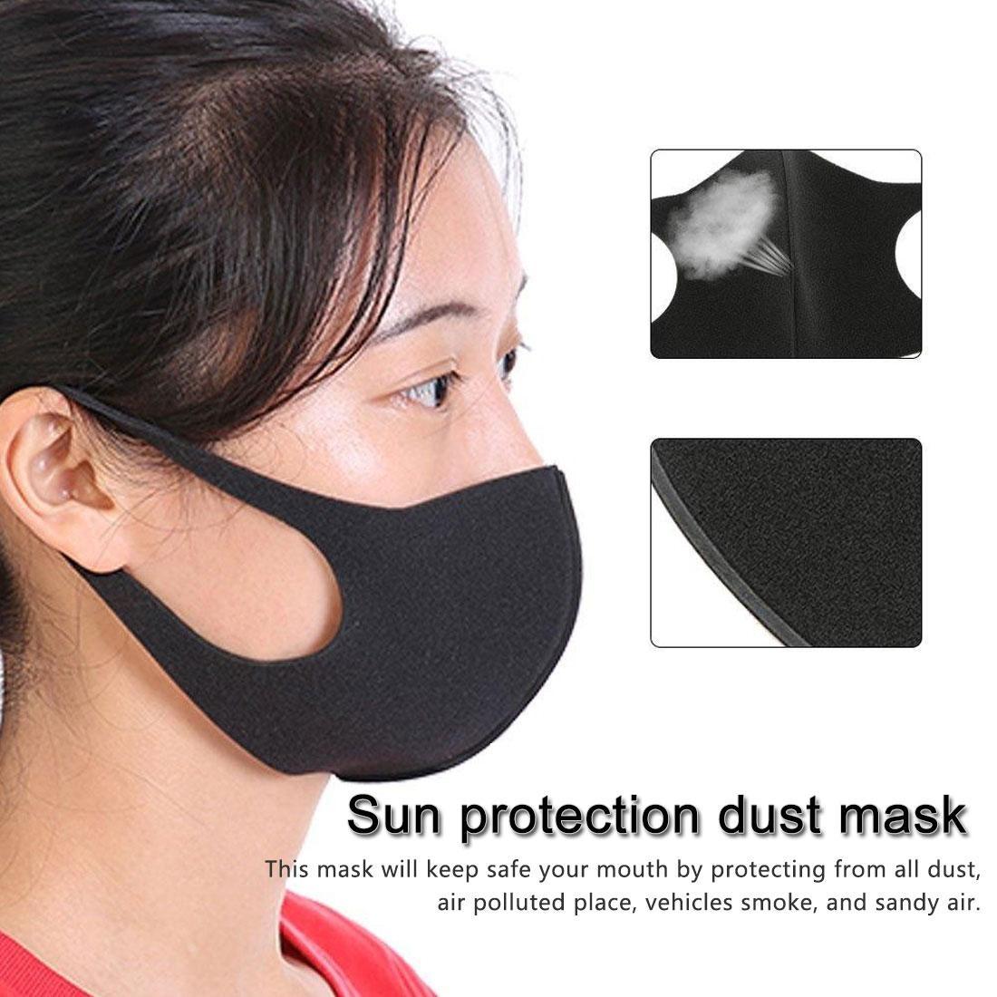 Хлопок пыле Рот маска для лица маски партии Анима мультфильма Kpop Женщина Мужчины Муфельного лицо Рот маска
