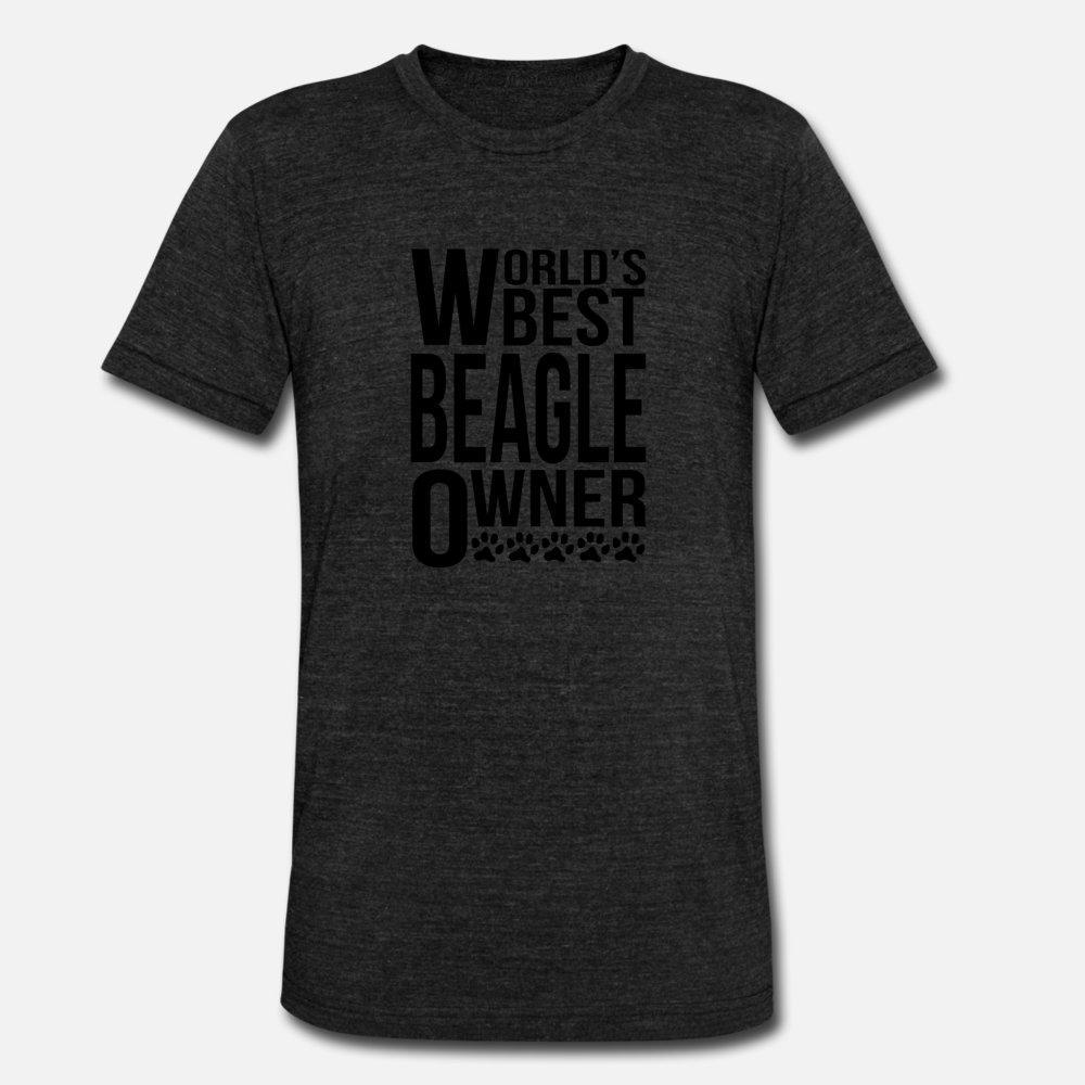 Melhor Beagle Dono da camisa de t dos homens mundiais de algodão tricotado Pictures S-3xl Interessante autêntico camisa legal Primavera Outono