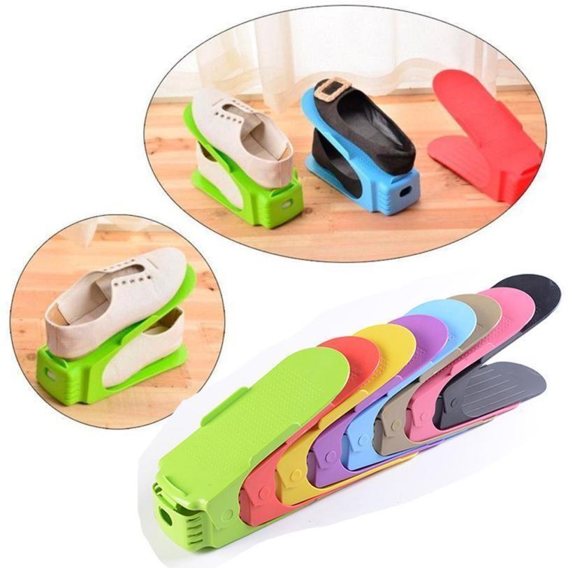 Стойки для хранения Полка для чистки обуви Современный номер Удобный Домащний Living Организатор Double Stand обувные коробки для обуви стойки hotclipper ssfRs