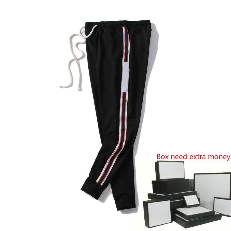 Pantaloni Moda Uomo Italia degli uomini di stile di lusso Sweatpants lettere stampate 20FW Moda jogging pista Pant Abbigliamento M-2XL