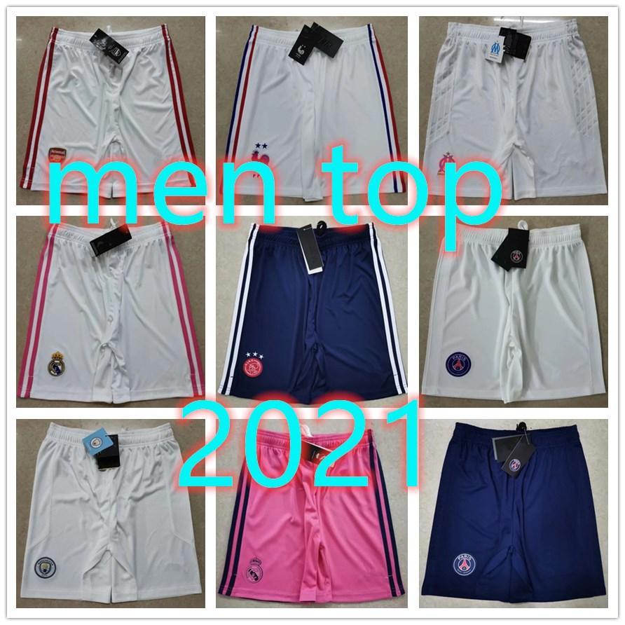 21 Novo Real Madrid Jerseys Ajax Mens Mens Futebol Shorts Soccer Shorts Soccer Jersey 2020 2021 Camisa de Futebol Futebol