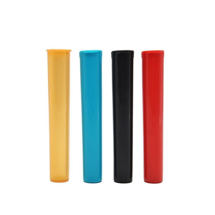 Tobacco Plastic Doob Tube Stash Jar 116mm Herb Container Storage Case Cigarette Rolling Paper Joint Tube Pill Box Pre Roll DHL
