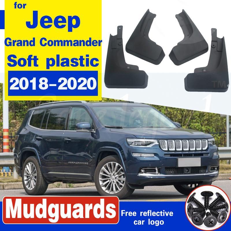 Auto Machtschützer für Jeep Grand Commander 2018-2020 Schlammklappen Splash Guards Mudflap Fender Auto Vorderer Hinterrad Zubehör