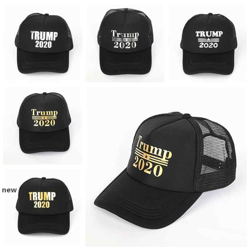 Donald Trump 2020 Şapkalar Beyzbol şapkası Açık Trump Seçim Cap Cumhuriyetçi Başkan Mesh Spor Cap ZZA2123new